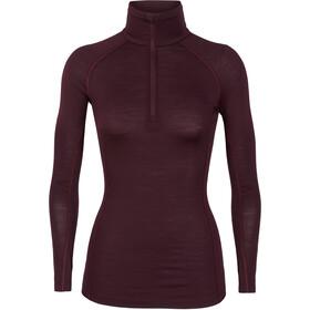 Icebreaker 150 Zone LS Half-Zip Shirt Damen velvet/prism